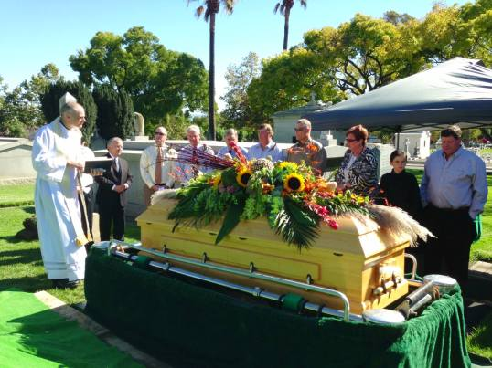 Brendan burial
